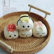 小熊寿司馒头