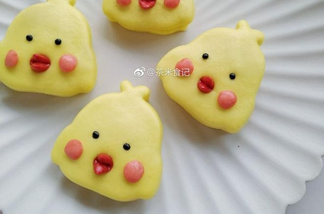 小黄鸭饼夹
