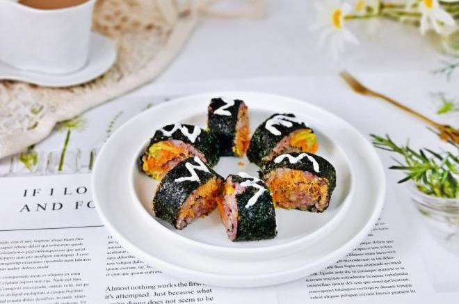 肉松藜麦杂粮寿司
