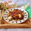 香菇炒鸡肉片
