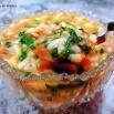 西红柿芹菜叶香菇猪肉疙瘩汤的制作方法