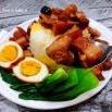 香菇鸡蛋卤肉饭的制作方法