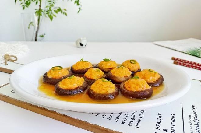 香菇酿虾滑