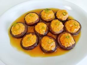 浓郁的香菇鲜味与虾仁的鲜美完美结合!
