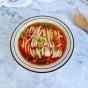 红油热汤面