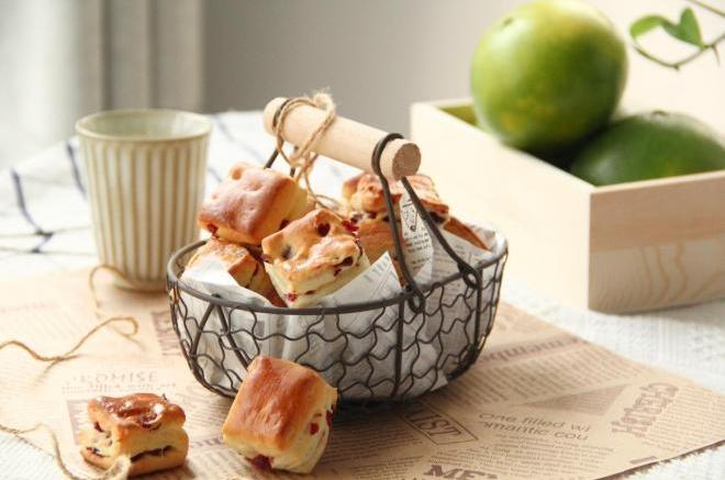 蔓越莓面包小方