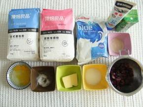材料准备,夏天记得预备冰袋,液体可冷藏,有效控制面温。